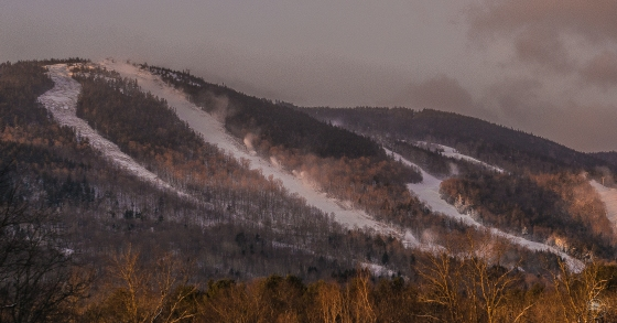 White Heat. The longest steepest widest lift-serviced expert trail in the East.