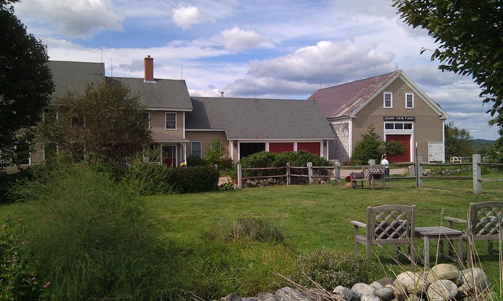Grandview Farm in Greene, Maine, provides Vignola with 40 percent of more of their ingredients.