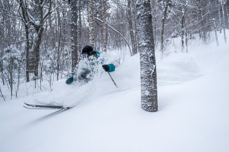 Valentine's Powder Day at Sunday River - 20 inches