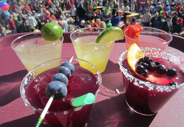 The Margarita Mix-Off is one of the most anticipated events of the winter. Voters will even claim their place in line hours before the tasting begins.