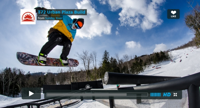 Urban Plaza build as a part of the Design-A-Feature Contest at Sunday River