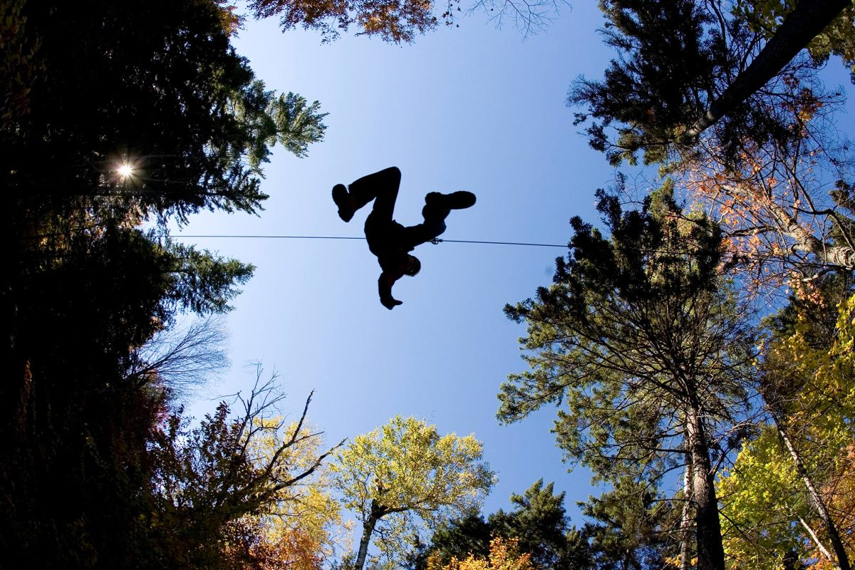 Ziplining at sunday river